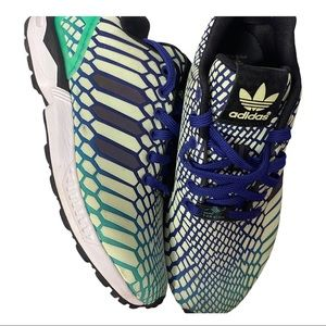 ADIDAS TORSION ZX FLUX XENO REFLECTIVE SNEAKERS